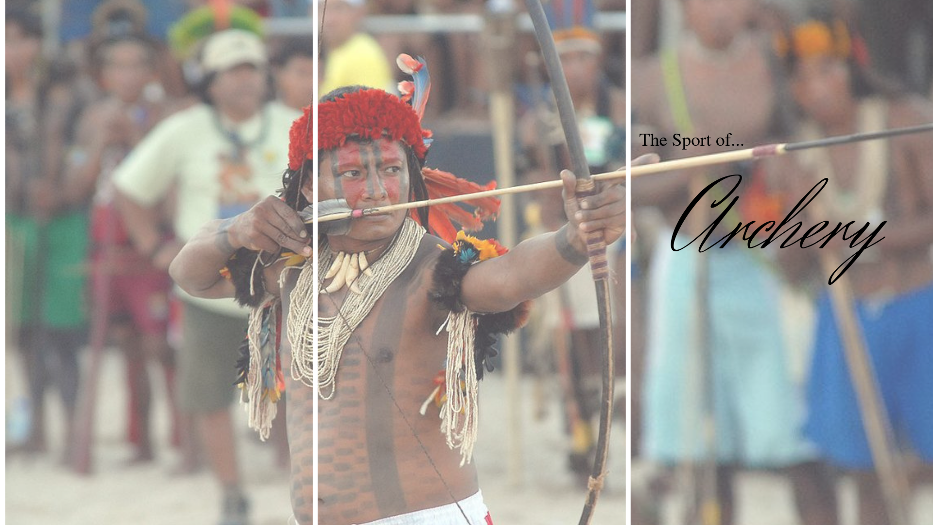 Check out the Indigenous Sport of 'Archery' #NoCriticsJustSports