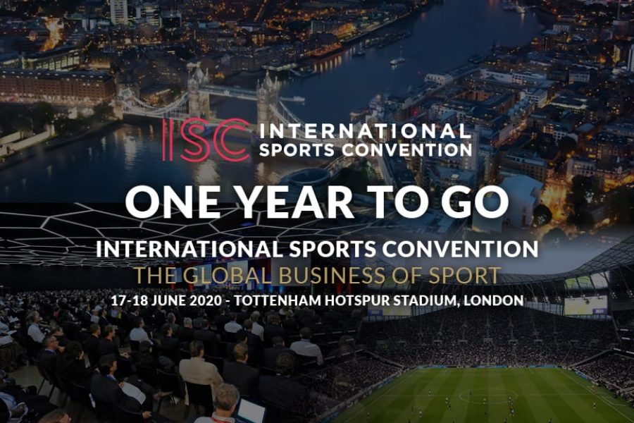 One Year To Go! @ISClondon2020 – International Sports Convention – Global Business of Sport Gathering #NoCriticsJustSports