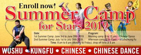 Wushu Academy Summer Camp Ad