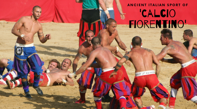 "The #Ancient #Italian #Sport of #CalcioFiorentino A.K.A ""giuoco del calcio fiorentino""  #AncientFootball #NoCriticsJustSports"