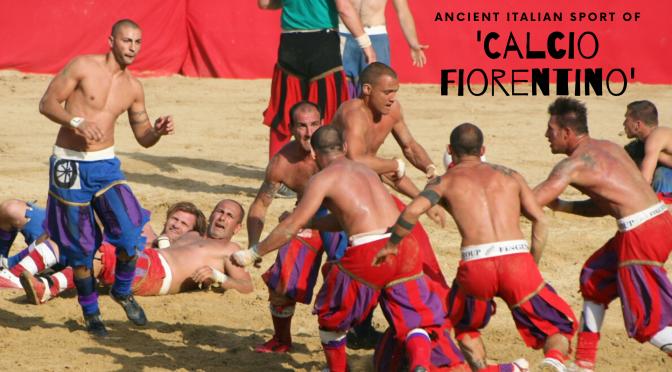 """The #Ancient #Italian #Sport of #CalcioFiorentino A.K.A """"giuoco del calcio fiorentino""""  #AncientFootball #NoCriticsJustSports"""