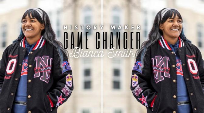 meet ncjs #HistoryMaker | #GAMECHANGER @BiancaESmith @MLB #Nocriticsjustsports